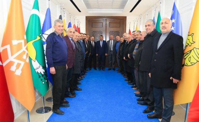 Baskilliler Derneği Başkanı Görgün'den Gürkan'a övgü