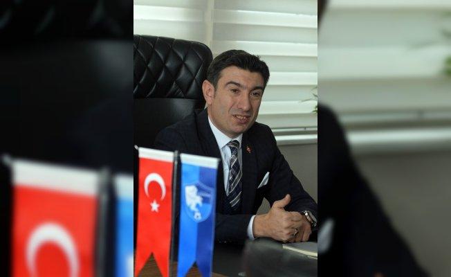 """B.B. Erzurumspor Kulübü Başkanı Doğan: """"Dualarımız Mehmetçikle"""""""