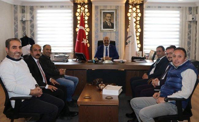 EGC Yönetiminden Başkan Orhan'a ziyaret