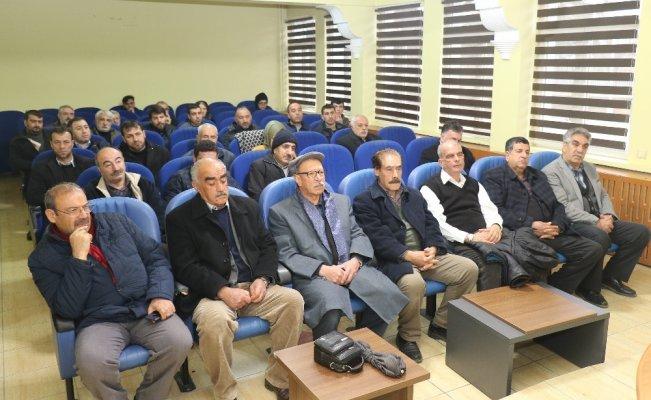 Elazığ'da çiftçilere eğitim