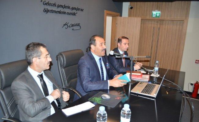 Erzincan'da Eğitim Değerlendirme toplantısı yapıldı