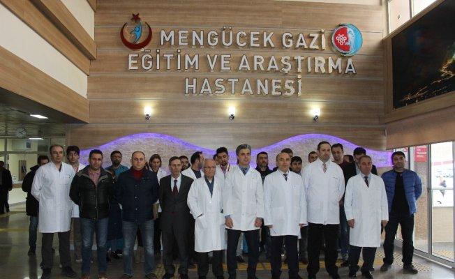 Erzincan'da ki sağlık çalışanlarından Türk Tabipler Birliği'ne tepki