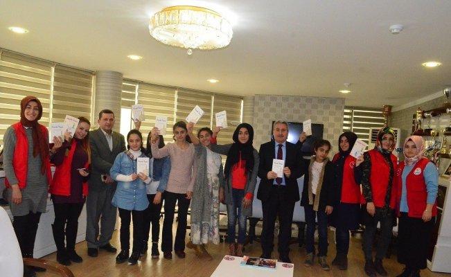 Erzurum'da okuma halkası oluşturuldu