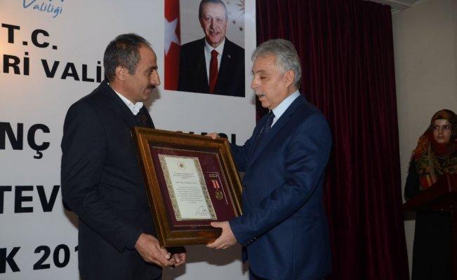 Hakkari'de Devlet Övünç Madalyası ve Beratı Tevcih Töreni