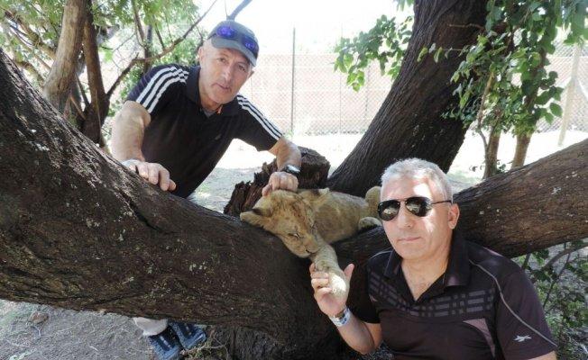 Hakkarili dağcılar Afrika'da safari turuna çıktılar