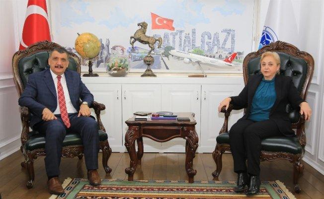 HİMYAÇ-DER'den Gürkan'a ziyaret