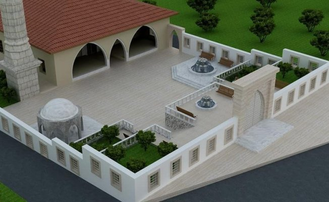 İbrahim Yusuf Paşalar Cami restore ediliyor