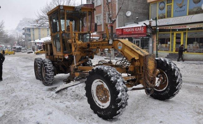 Kars'ta 5 köy yolu ulaşıma kapandı