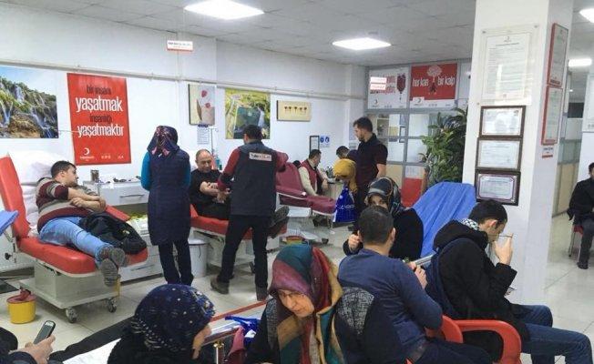 Kızılay'dan kan bağış kampanyası