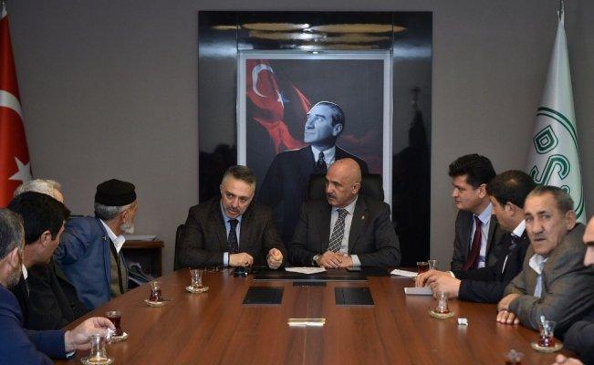 Milletvekili Ilıcalı, Bakan Eroğlu ile  görüştü