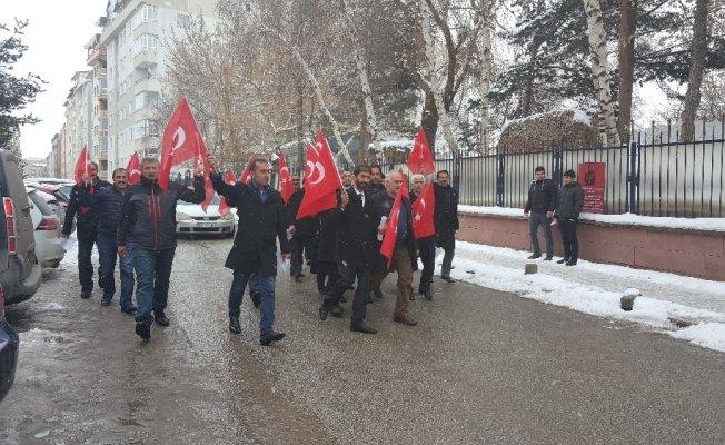 Muhtarlar Afrin için askerlik şubesine akın etti