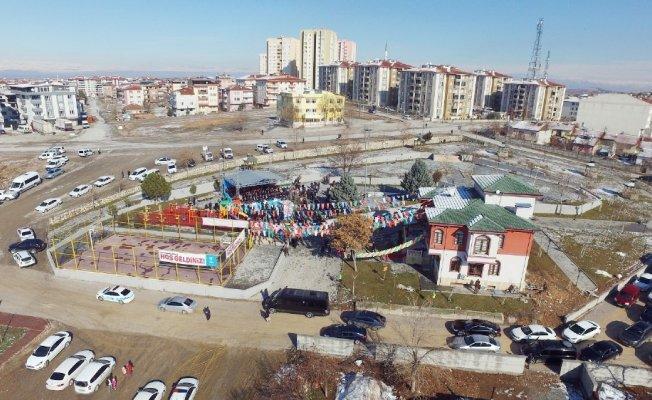 Şehitlerin adını taşıyan gençlik merkezi ve parkın açılışını Bakan Tüfenkci yaptı