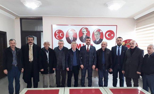 Sivaslılar Derneği'nden MHP'ye ziyaret