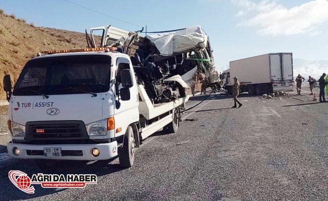 Van'da ki Trafik Kazasında Ölenlerin Taziye için Geldikleri Ortaya Çıktı