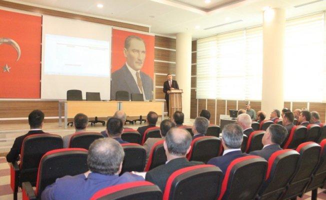 Van'da 'İlçe Milli Eğitim Müdürleri Kurul Toplantısı' yapıldı