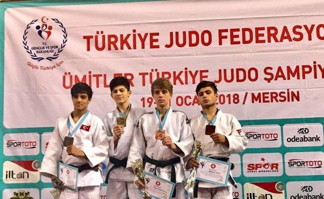 Vanlı judocu gümüş madalyanın sahibi oldu