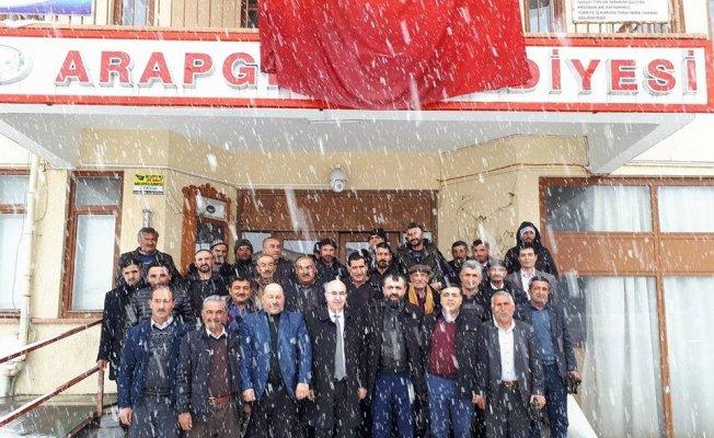 Yazıhan ve Arapgir ilçelerinde proje toplantıları düzenlendi