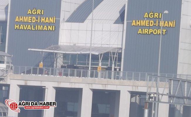 Ağrı Ahmed-i Hani Havalimanı 2018 Ocak ayı uçuş raporunu açıkladı