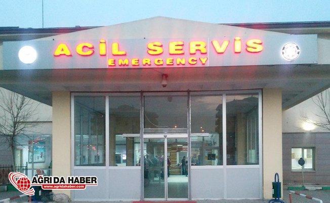 Ağrı'da Trafo Yandı: 2 Kişi Yaralandı!