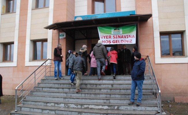 Ağrı'da Siyer Sınavına 5 bin kişi katıldı