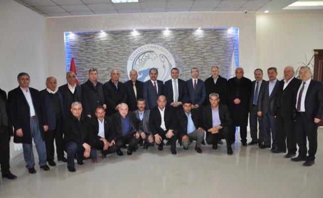 AK Parti ilçe teşkilatından Kaymakam Yaşar'a ziyaret