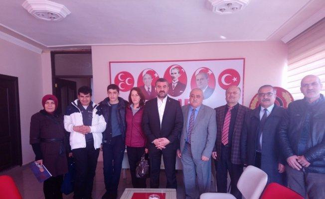 Avşar'dan Otizm Derneği'ne destek sözü