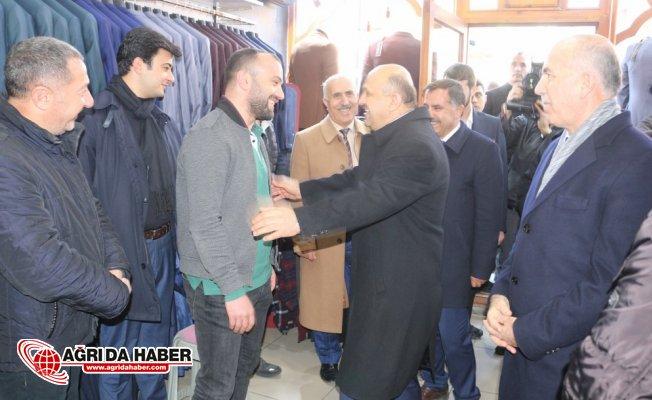 Başbakan Yardımcısı Fikri Işık, Ağrı'nın gelişimin önündeki engel Terör