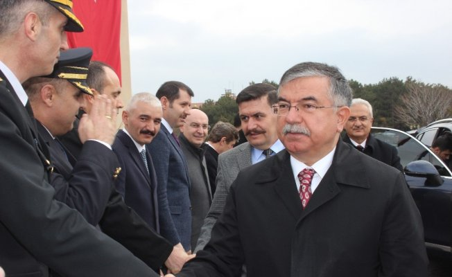 Milli Eğitim Bakanı İsmet Yılmaz Erzincan'da
