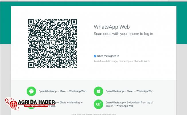 Bilgisayar'dan Whatsapp Kullananlara (Whatsapp Web) Müjde!