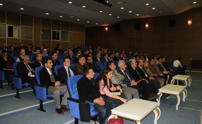 Bitlis'te BİMER bilgilendirme toplantısı