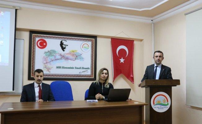 ÇATAK Programı Bilgilendirme ve Değerlendirme toplantısı yapıldı