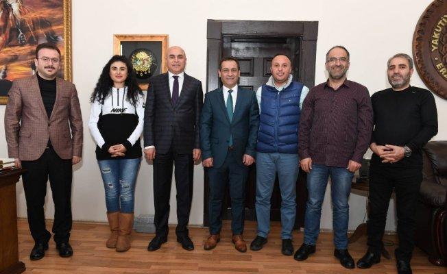 EGC'den Başkan Korkut'a ziyaret