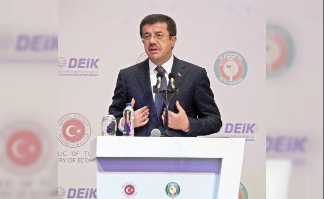 """Ekonomi Bakanı Zeybekci: """"İki dev ekonomi iki vazgeçilmez ortaktır"""""""