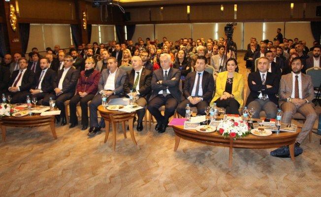 """Elazığ'da """" Bölgelerarası Ortak Girişim Projesi"""" toplantısı"""
