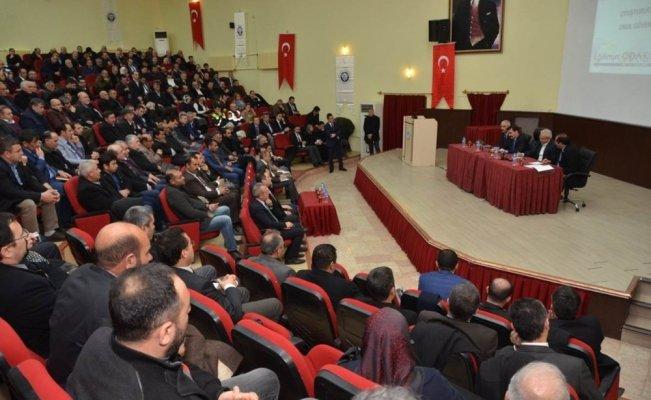 Erzincan da Uyuşturucu ile Mücadele ve Okul güvenliği toplantısı yapıldı