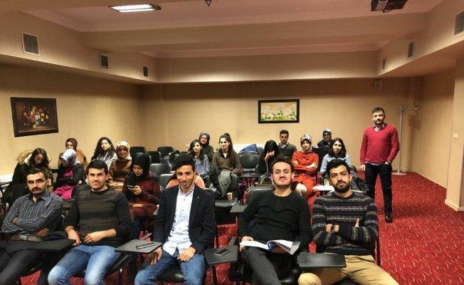 Erzincan'da avukatlara staj eğitim programı düzenleniyor