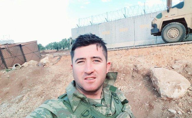 Garnizon Komutanı Çakmak, Afrin Gazisini ziyaret etti