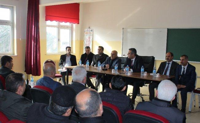 Bingöl Genç'te 'Halk Buluşmaları' toplantısı