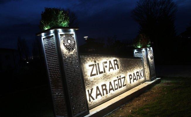 Gölbaşı'nda parklara dekoratif isim tabelası yapıldı