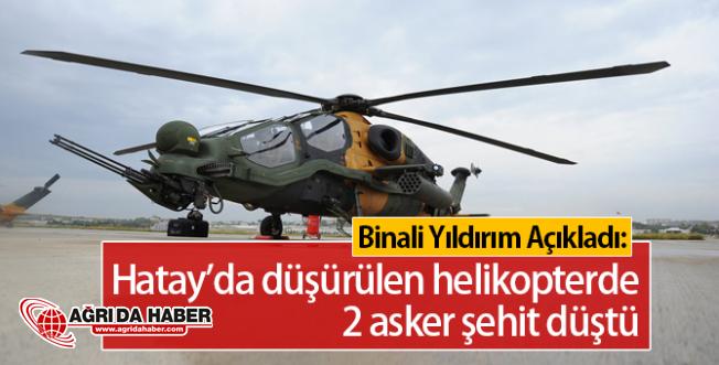 Hatay'da Helikopterimiz Düşürüldü: 2 Şehit