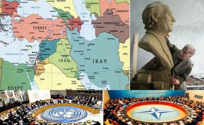 Heykeltıraş Murat Alınak, Ortadoğu'da savaşların acilen durdurulması için Birleşmiş Milletlere ve NATO'ya çağrıda bulundu