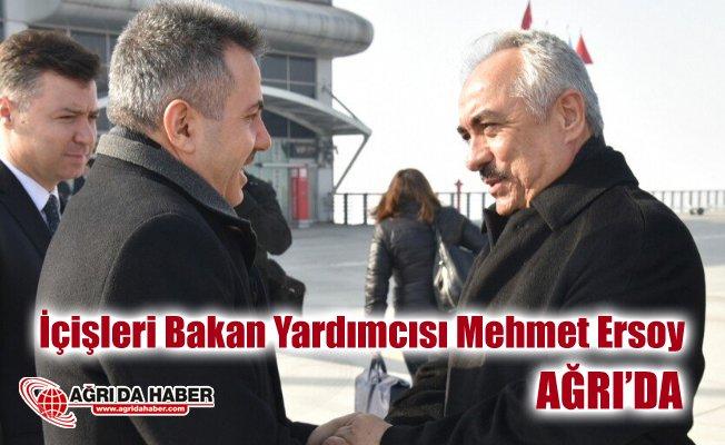 İçişleri Bakan Yardımcısı Mehmet Ersoy, Diyadin, Doğubayazıt ve Tutak ilçelerini ziyaret etti