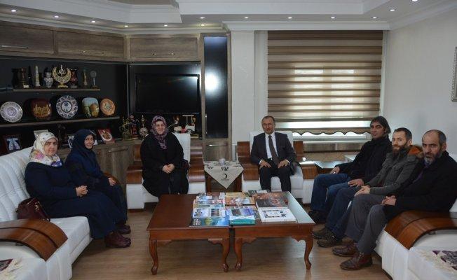 İHH'dan Başkan Köksoy'a ziyaret