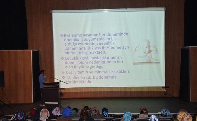 İpekyolu Belediyesinden sağlık semineri