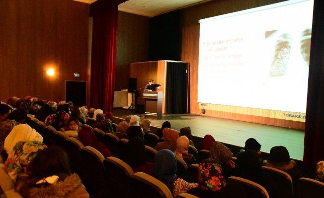 """İpekyolu belediyesinden """"Tütün ve İnsan Sağlığı"""" konulu seminer"""