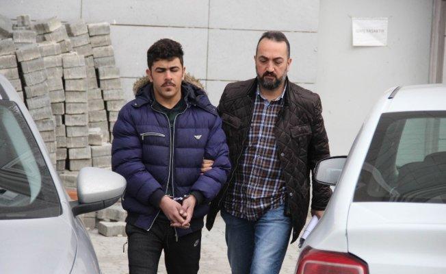 Iraklı kadını gasptan aranan zanlı yakalandı
