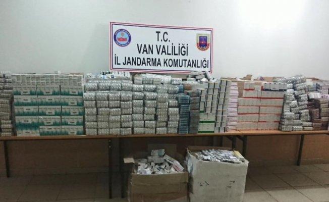 Jandarma'dan Van'da İlaç Operasyonu! 35 bin 652 Tablet İlaç Yakalandı!