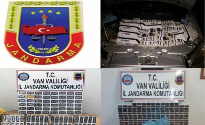Van'da Kaçak Sigara Operasyonu: 6 Bin 88 Paket Sigara Yakalandı