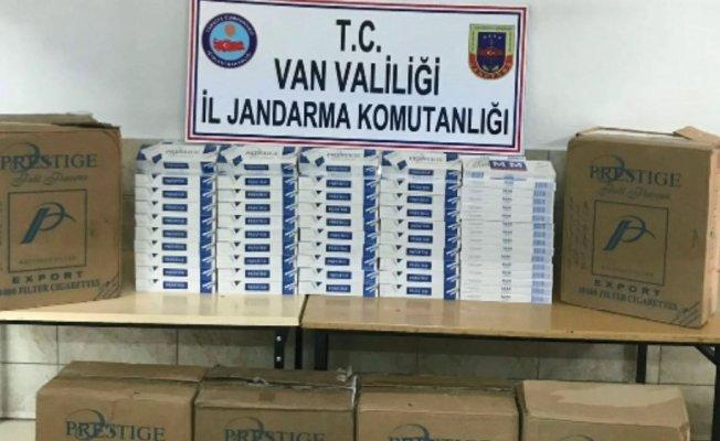 Van'da Kaçak Sigara Operasyonu! LPG Tankından Binlerce Paket Sigara Çıktı!