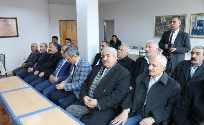 Malatyalı muhtarlardan Zeytin Dalı Harekatına tam destek